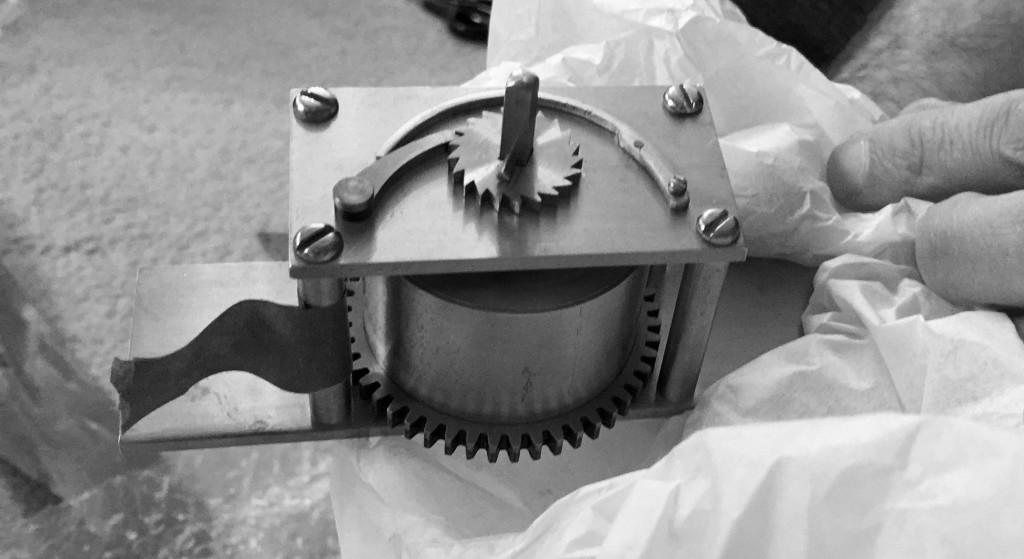 Detail of a drive barrel mechanism